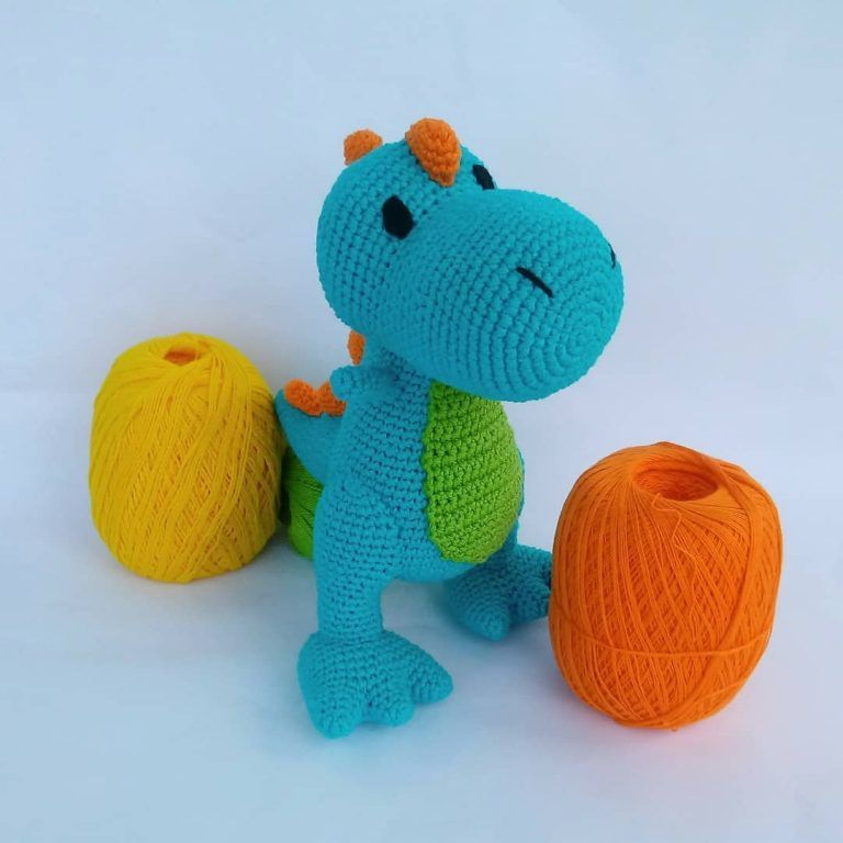 contemporary-2019-amigurumi-crochet-dragon-chico-free-pattern-15 Amigurumi Tığ işi Dragon Chico Ücretsiz Desen