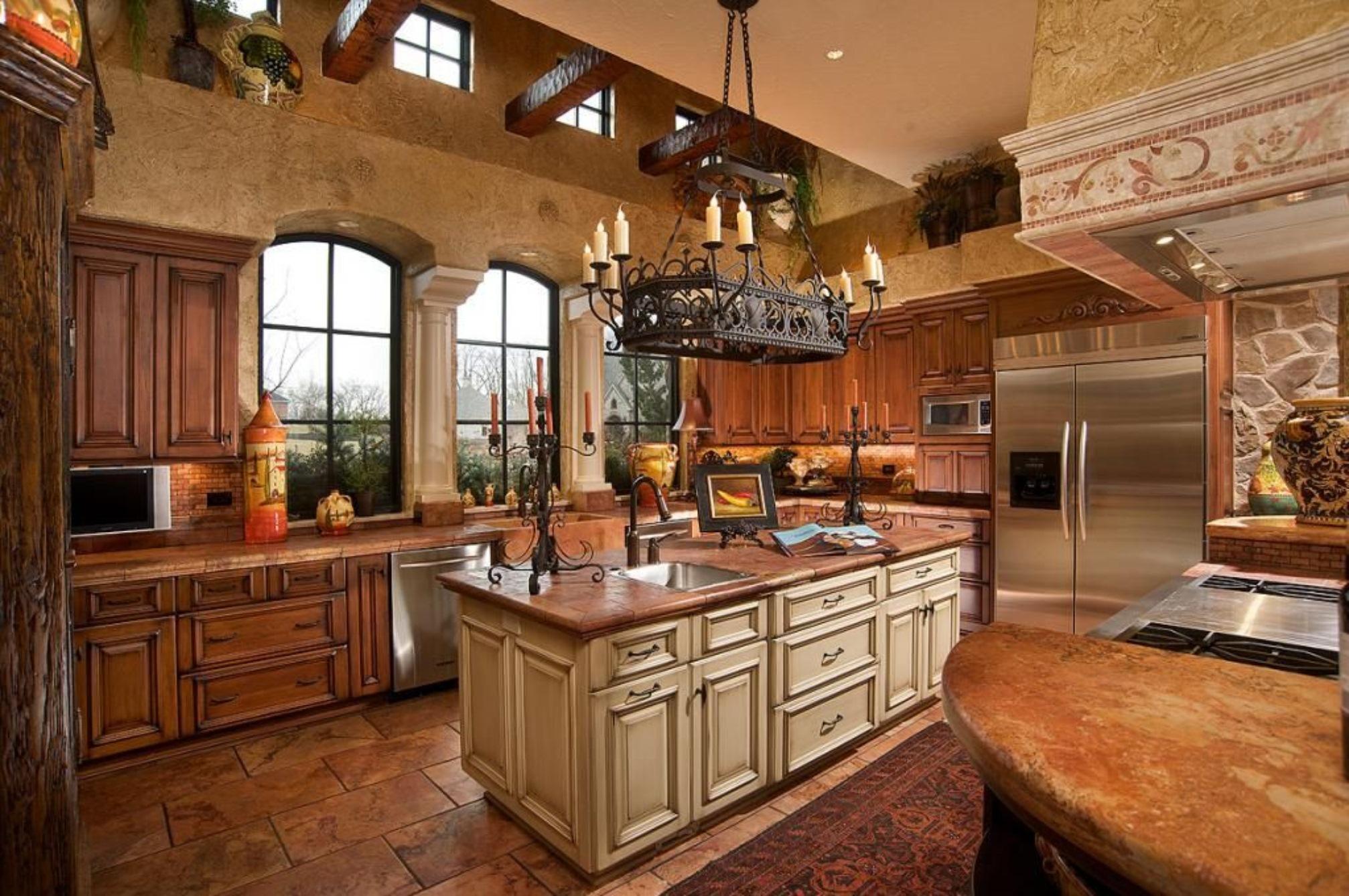 country-tarzi-mutfak-dekorasyon-modeli-12 Country Tarzı Mutfak Dekorasyonu