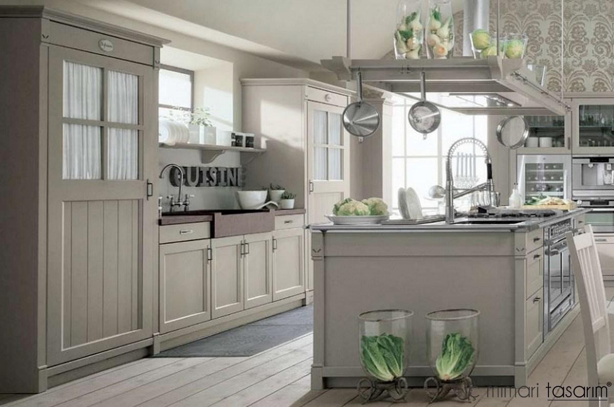 country-tarzi-mutfak-dekorasyon-modeli-19 Country Tarzı Mutfak Dekorasyonu