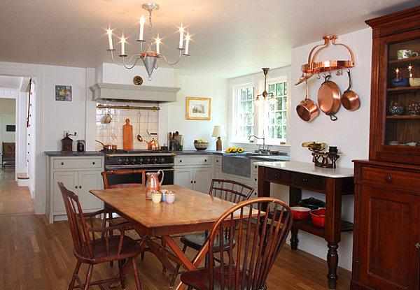 country-tarzi-mutfak-dekorasyon-modeli-8 Country Tarzı Mutfak Dekorasyonu
