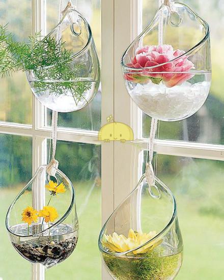 dekoratif-cam-vazo-modelleri Eviniz İçin Dekoratif Vazo Modelleri