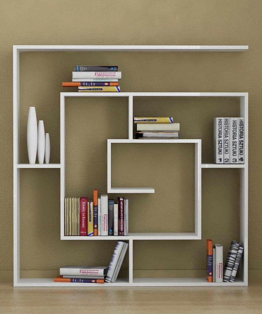 dekoratif-kitaplik-modelleri Dekorasyonda Kullanabileceğiniz Kitaplık Önerileri