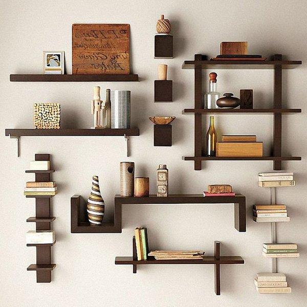 duvar-kitaplik-modelleri-2017 Dekorasyonda Kullanabileceğiniz Kitaplık Önerileri