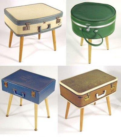 eski-eşyalardan-ilginç-tasarımlar-bavul-sehpa-modeli Eski Eşyalardan Yeni Tasarımlar