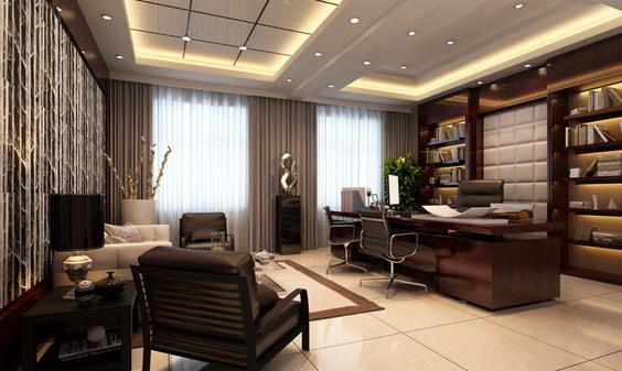 home-ofise-deri-koltuk-dekorasyon Deri Koltuklar Dekorasyonda Nasıl Kullanılır