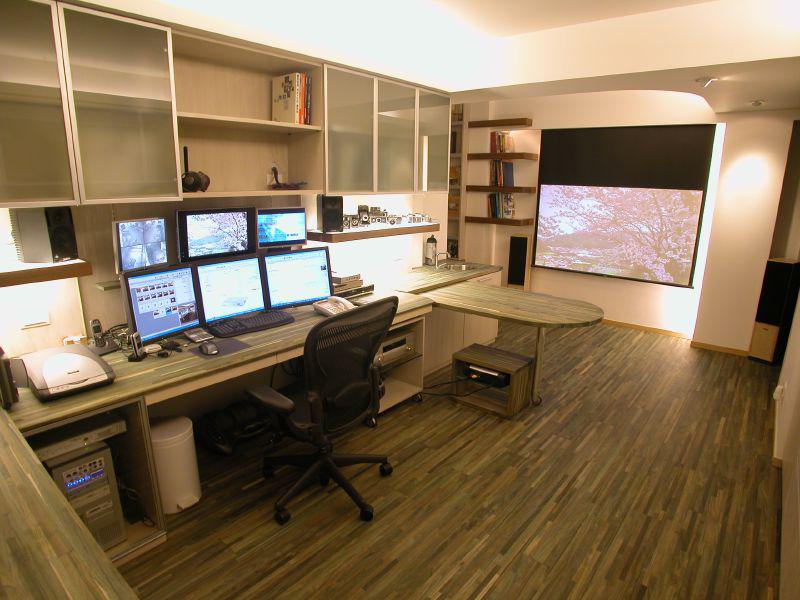 homeofis-calisma-odasi-dekorasyonlari İlham Veren Çalışma Odaları
