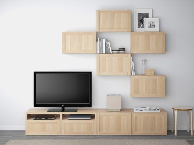 ikea-2015-tv-unitesi-modelleri-besta-series IKEA 2018 TV Ünitesi Modelleri