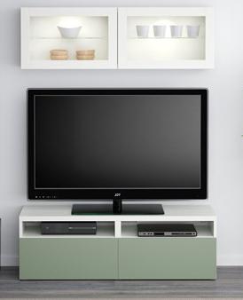 ikea-kucuk-beyaz-kapaklari-yesil-tv-unitesi-modelleri-2017 İKEA 2016 TV Üniteleriyle Ev Dekorasyonuza Hava Katın.