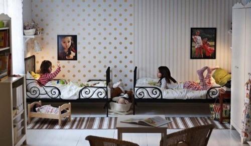 iki-kiz-kardes-yatakli-genc-oda-takimlari İki Kardeş Odası Dekorasyonu Nasıl Olmalı?