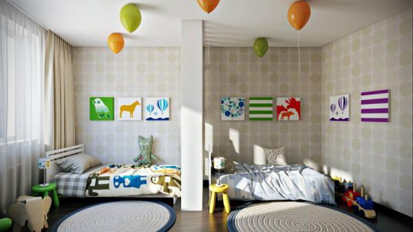 kardes-oda-dekorasyonu-ornekleri İki Kardeş Odası Dekorasyonu Nasıl Olmalı?