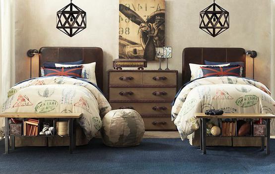 kardes-yatakli-genc-odalari İki Kardeş Odası Dekorasyonu Nasıl Olmalı?
