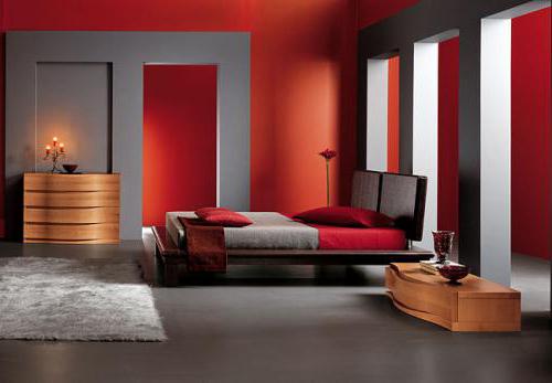 kirmizi-modern-yatak-odasi-tasarimlari İlham Verici Yatak Odası Dekorasyonları