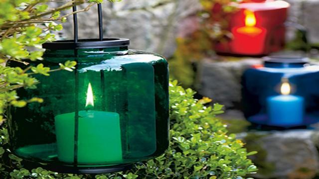 koctas-bahce-aydinlatma-modelleri-cam-fener- Koçtaş Bahçe Aydınlatma Modelleri