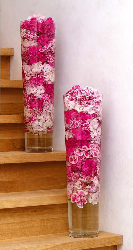 merdiven-icin-vazo-modelleri Eviniz İçin Dekoratif Vazo Modelleri