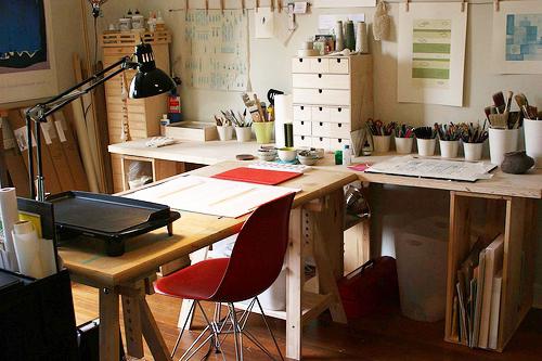 mimar-calisma-odasi-dekorasyonlari İlham Veren Çalışma Odaları