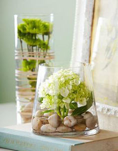 modern-cam-vazo-modelleri Eviniz İçin Dekoratif Vazo Modelleri