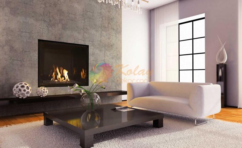modern-somine-modelleri-kolay-dekor-13 Modern Şömine Modelleri