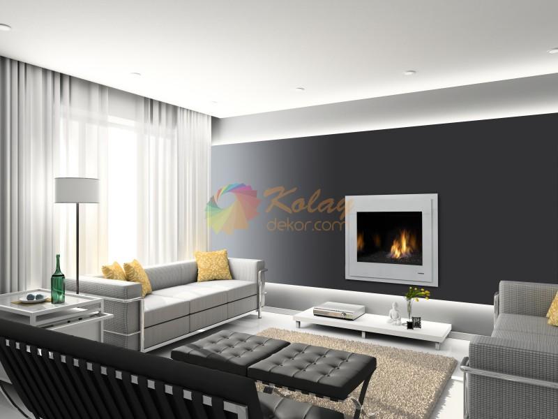 modern-somine-modelleri-kolay-dekor-27 Modern Şömine Modelleri