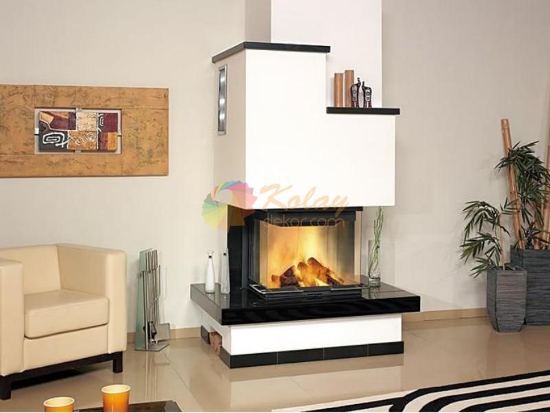 modern-somine-modelleri-kolay-dekor-4 Modern Şömine Modelleri