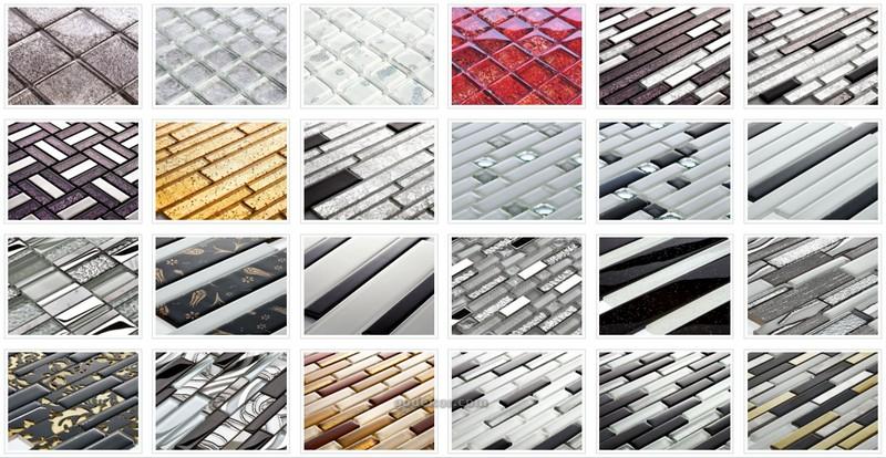 mutfak-tezgah-arasi-cam-mozaik-1 Mutfak tezgah arası cam mozaik modelleri