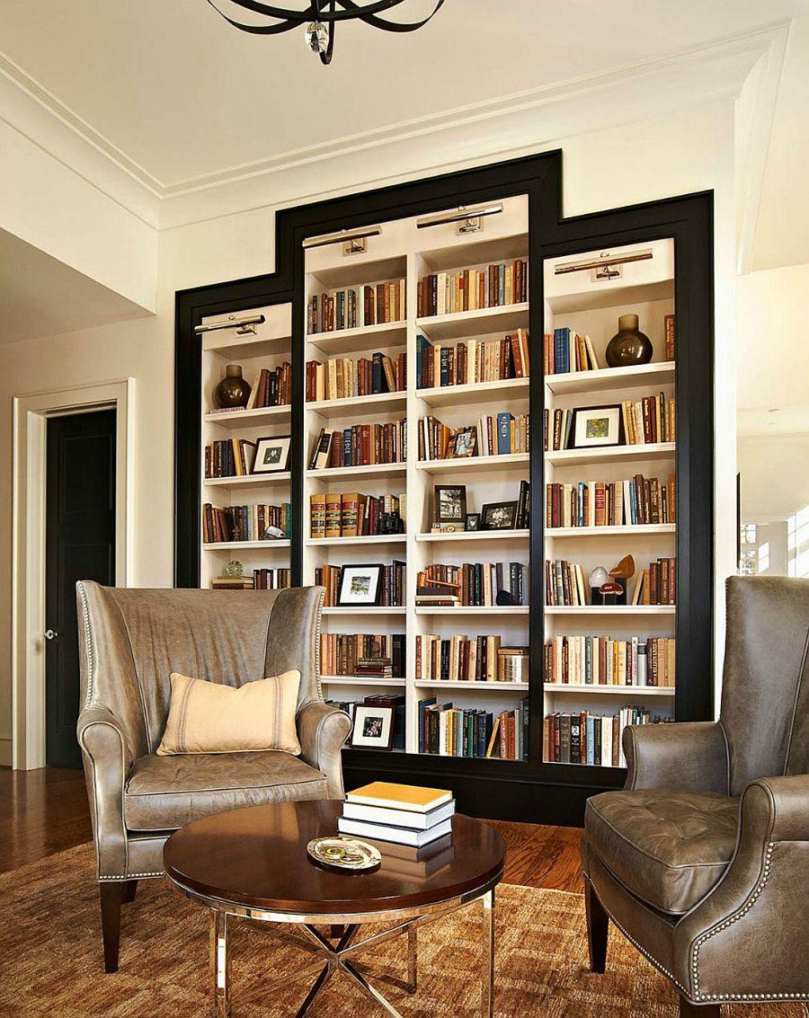 okuma-odasi-kitaplik-dekorasyonlari Dekorasyonda Kullanabileceğiniz Kitaplık Önerileri