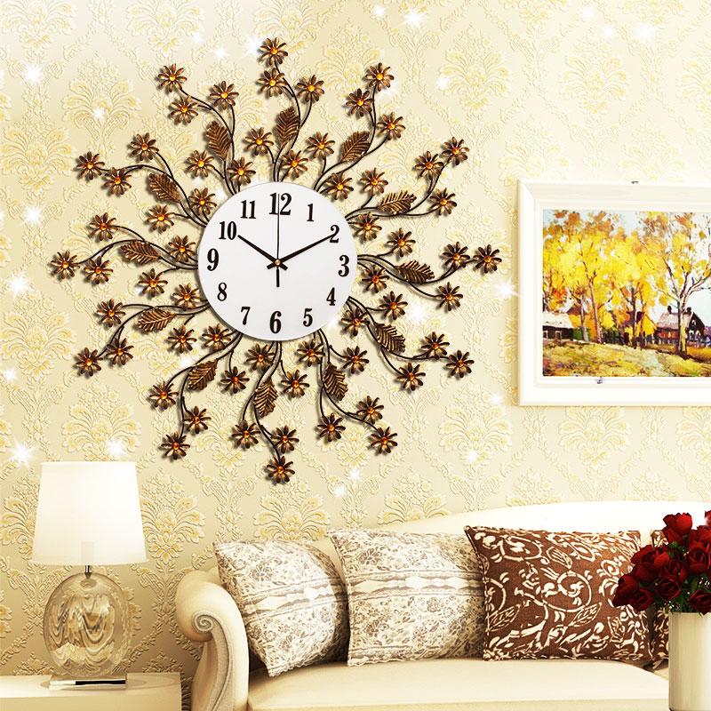 oturma-odasi-duvar-saati-tavsiyeleri Duvar Saati Dekorasyonda Nasıl Kullanılır
