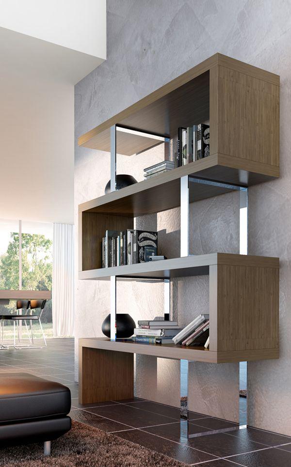 oturma-odasi-icin-kitaplik-modelleri Dekorasyonda Kullanabileceğiniz Kitaplık Önerileri