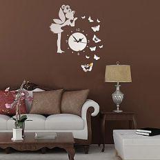 oturma-odasi-sik-duvar-saatleri Duvar Saati Dekorasyonda Nasıl Kullanılır