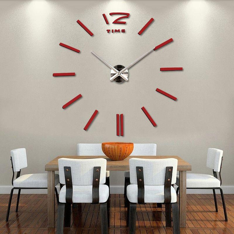 salon-buyuk-duvar-saatleri Duvar Saati Dekorasyonda Nasıl Kullanılır