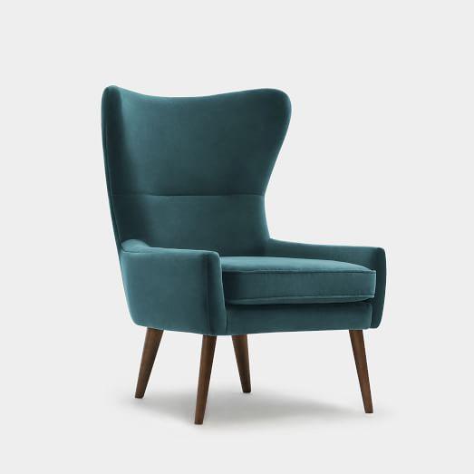 salon kanatlı sandalye