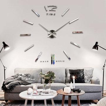 salon-tasarimi-buyuk-duvar-saatleri Duvar Saati Dekorasyonda Nasıl Kullanılır
