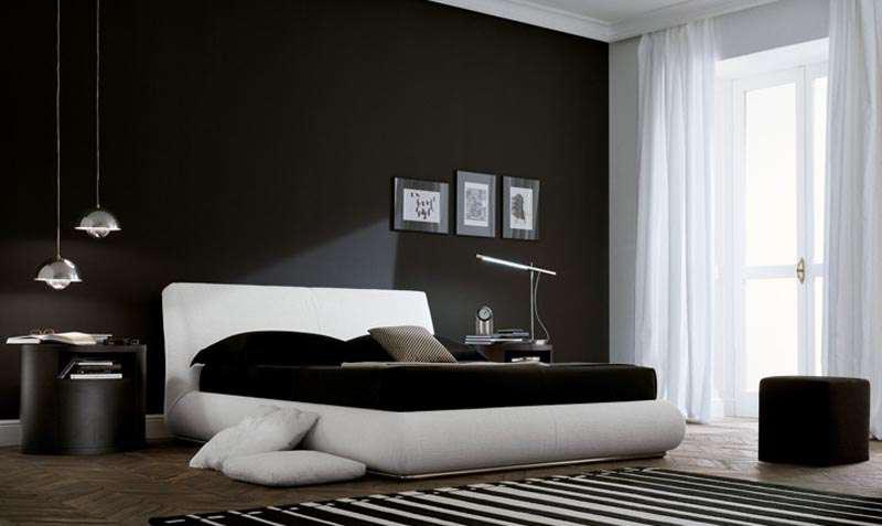 siyah-beyaz-yatak-odasi-takimlari-2016 İlham Verici Yatak Odası Dekorasyonları