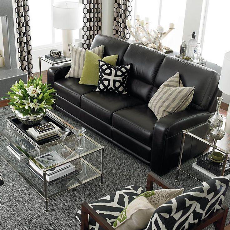 siyah-mobilya-hangi-renk-perde-kullanılmalı Siyah Mobilyalar İçin Dekorasyon Önerileri