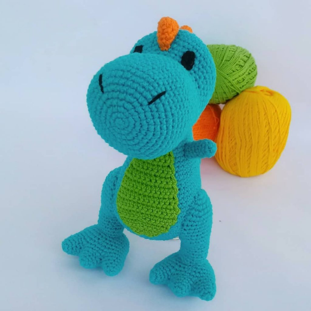stylish-2019-amigurumi-crochet-dragon-chico-free-pattern-11 Amigurumi Tığ işi Dragon Chico Ücretsiz Desen