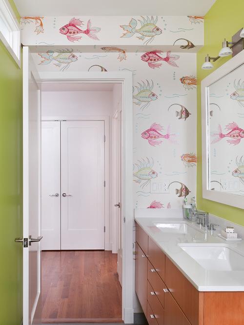 suya-dayanıklı-banyo-duvar-kağıdı-1 Suya Dayanıklı Banyo Duvar Kağıdı Modelleri