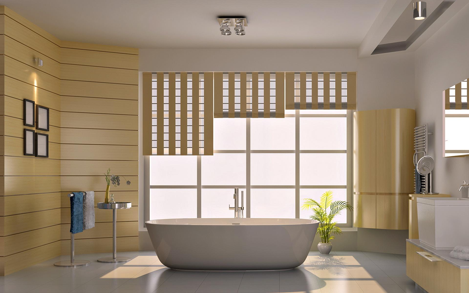 suya-dayanıklı-banyo-duvar-kağıdı Suya Dayanıklı Banyo Duvar Kağıdı Modelleri
