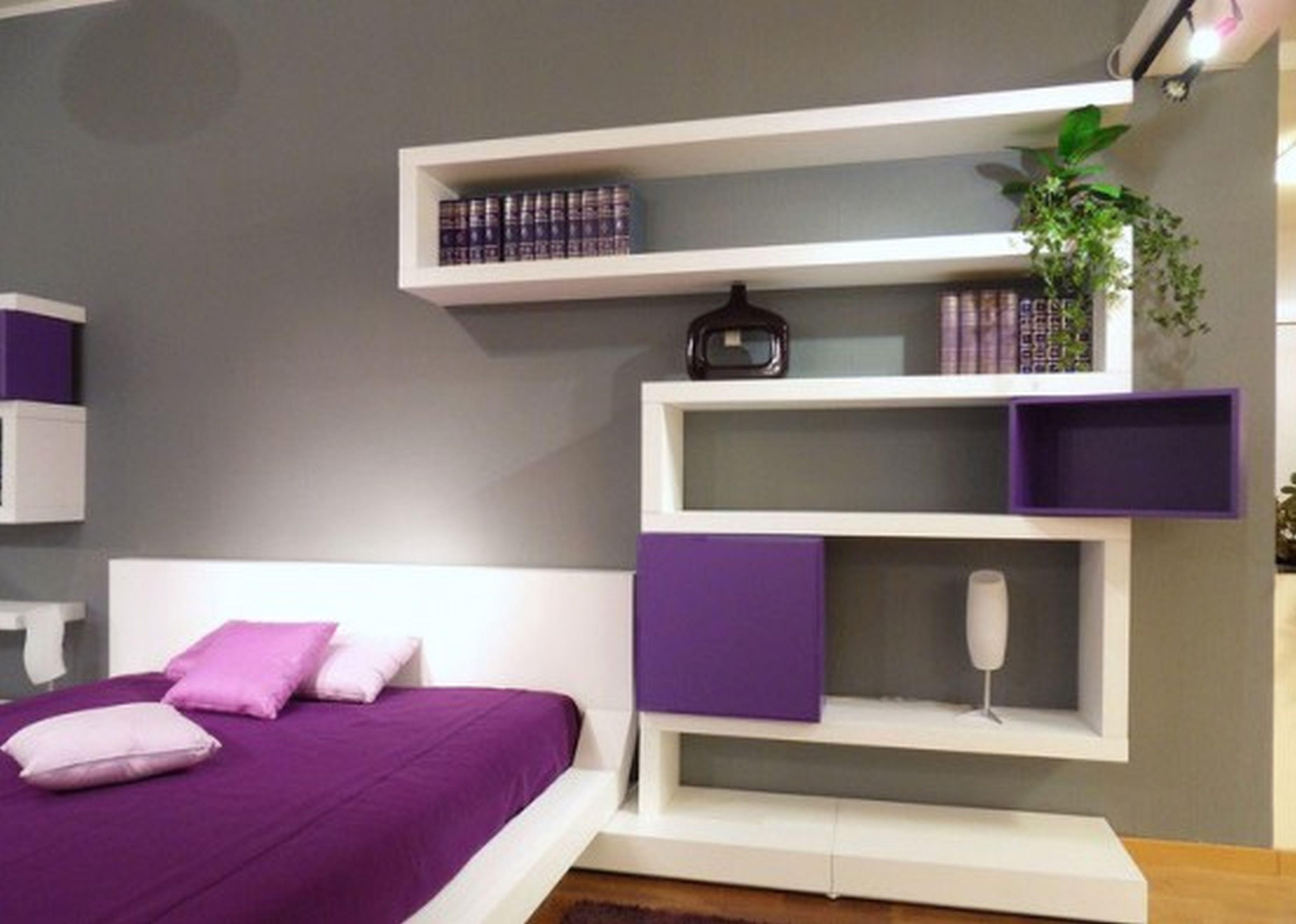 yatak-odasi-dekorlarinda-kitaplik-modelleri Dekorasyonda Kullanabileceğiniz Kitaplık Önerileri