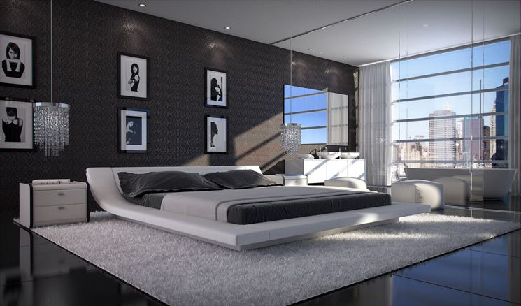 alcak-modern-yatak-odasi-tasarimlari-2016 İlham Verici Yatak Odası Dekorasyonları