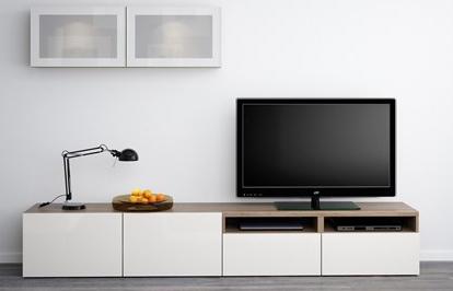 ikea-beyaz-asimetrik-tv-uniteleri-2017 İKEA 2016 TV Üniteleriyle Ev Dekorasyonuza Hava Katın.