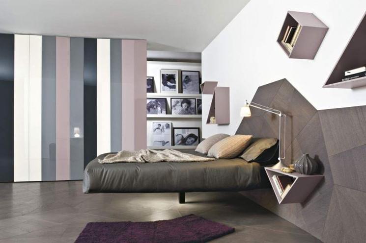 modern-asimetrik-yatak-odasi-dekorlari-2016 İlham Verici Yatak Odası Dekorasyonları