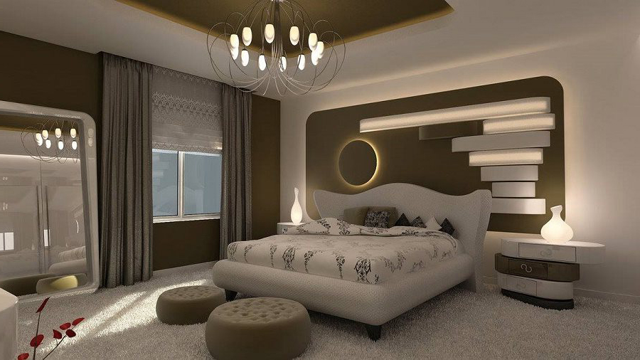 modern-otel-tarzi-yatak-odasi-dekorlari İlham Verici Yatak Odası Dekorasyonları