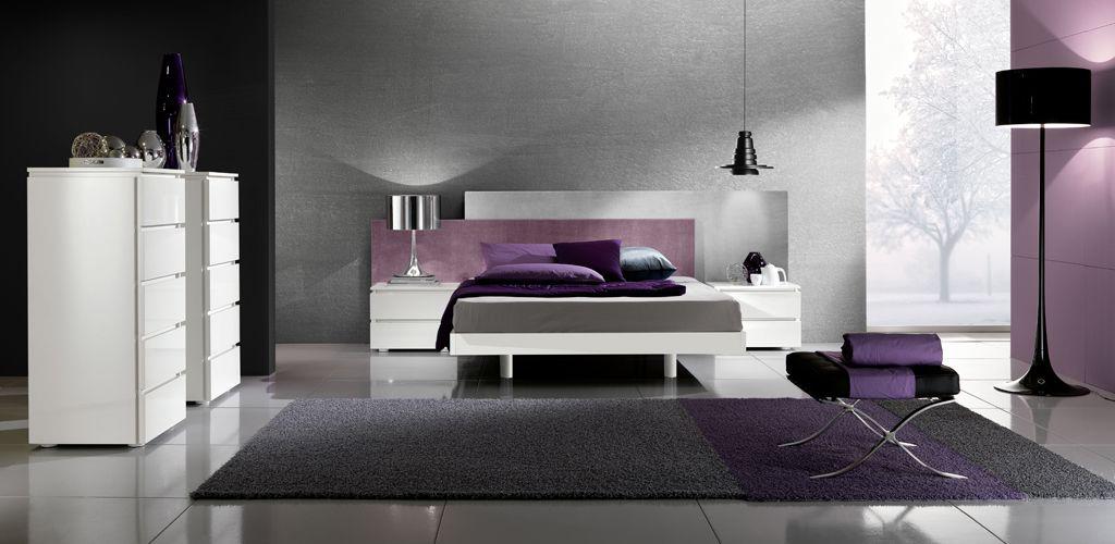 mor-yatak-odasi-tasarimlari İlham Verici Yatak Odası Dekorasyonları